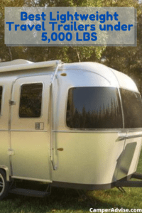 Best Lightweight Travel Trailers under 5000 lbs