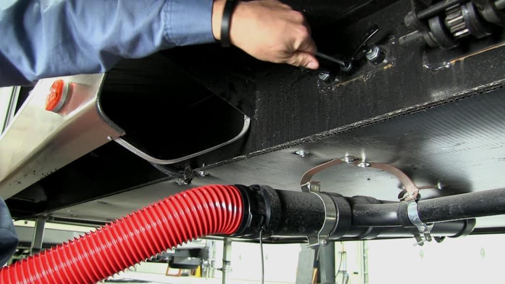 Draining RV Plumbing System