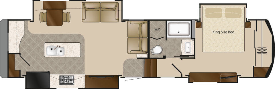 DRV Luxury Suites Mobile Suites 36 RKSB Floorplan