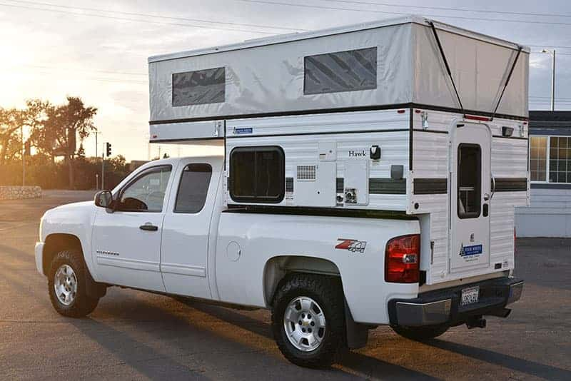Hawk Four Wheel Pop-up Camper