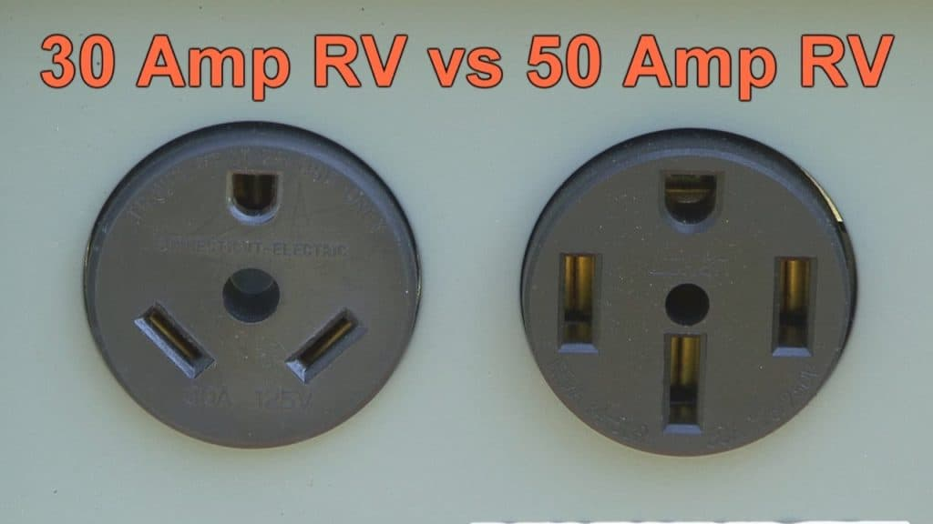 30 Amp vs 50 Amp Difference