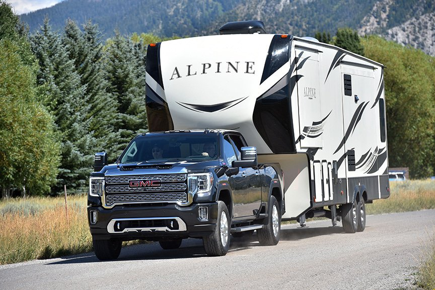 5th Wheel Truck Towing