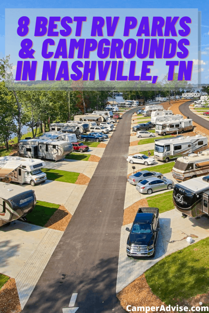8 Best RV Parks & Campgrounds in Nashville, TN