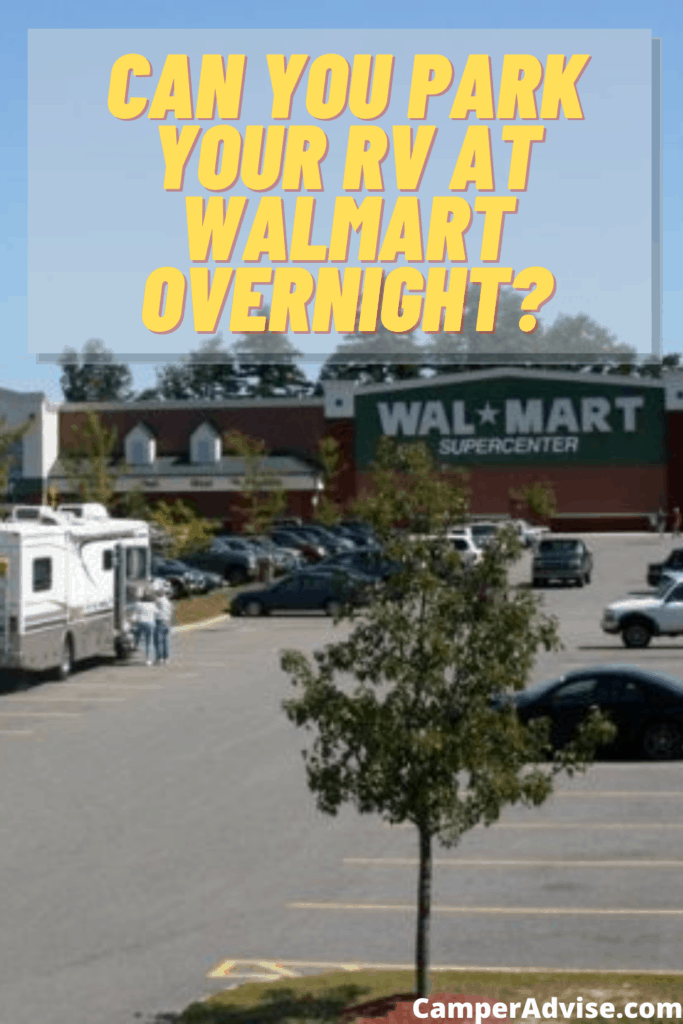 All About WalMart RV Parking Overnight