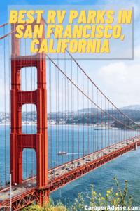 Best RV Parks in San Francisco, California