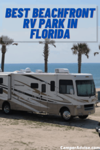 Best Beachfront RV Park in Florida