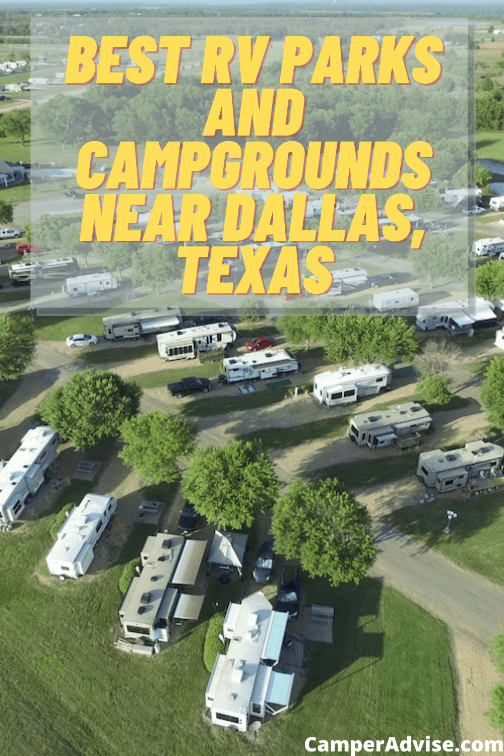 Best RV Parks and Campgrounds near Dallas, Texas