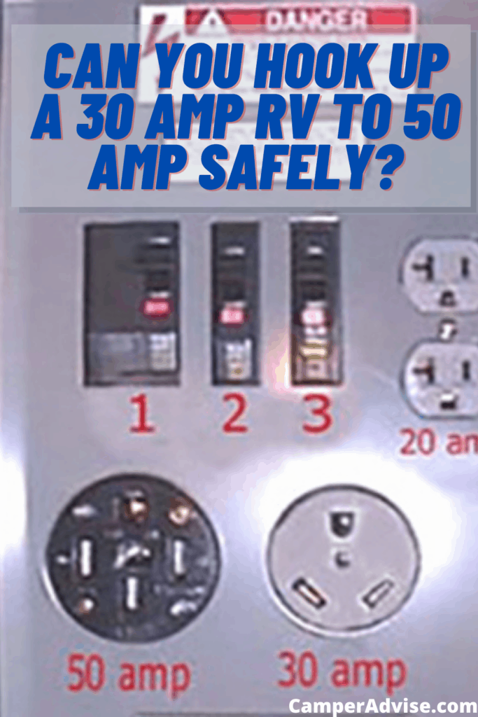 Can You Hook Up a 30 Amp RV to 50 Amp Safely
