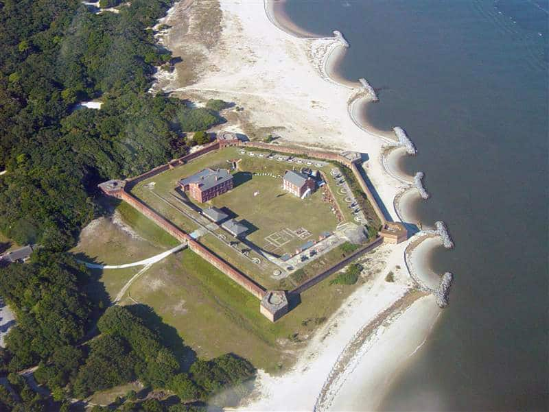 Fort Clinch State Park View