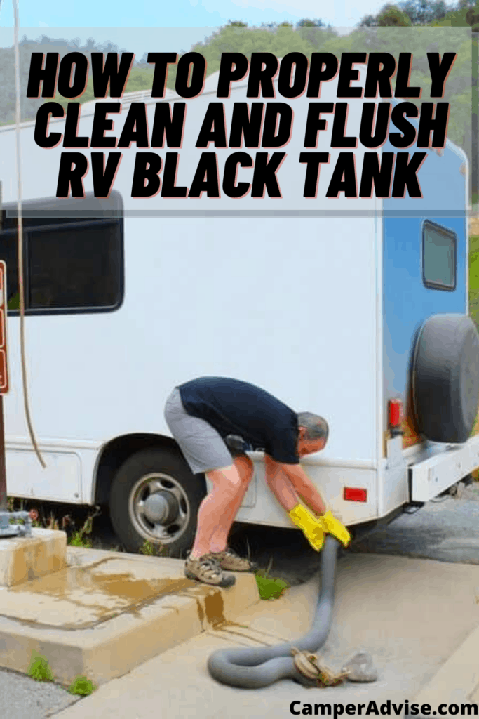 How to Clean and Flush RV Black Tank