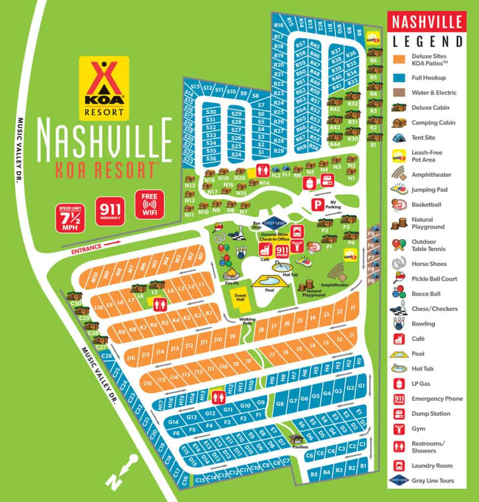 Nashville KOA Resort