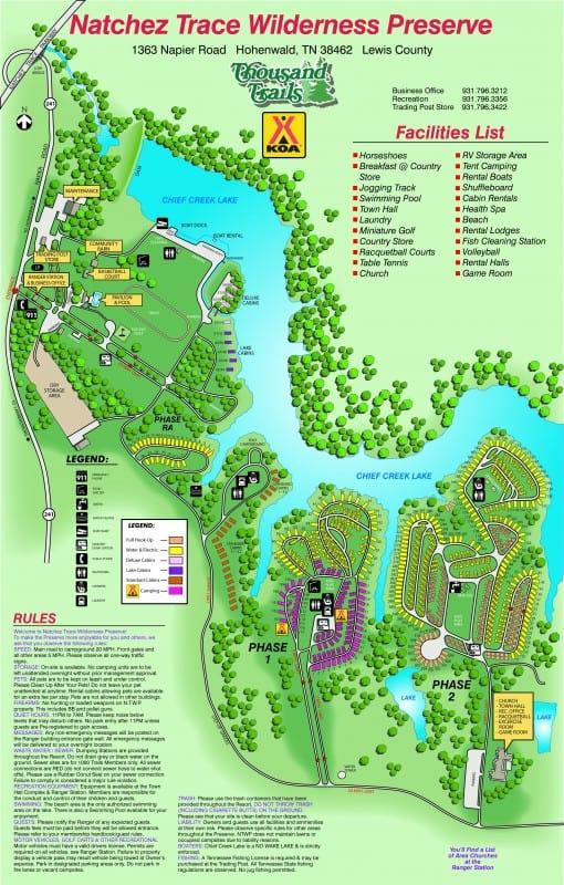 Natchez Trace RV Campground