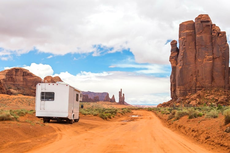 National Park RV Parking