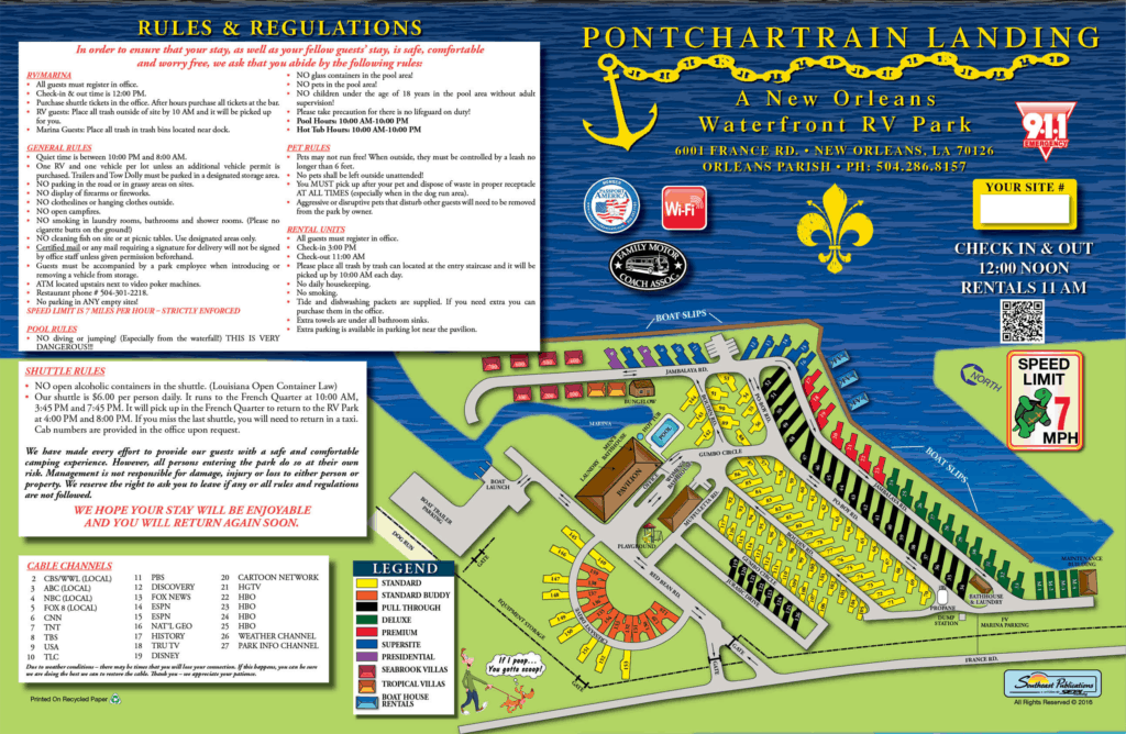 Pontchartrain Landing