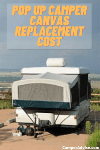 Pop Up Camper Canvas Replacement Cost