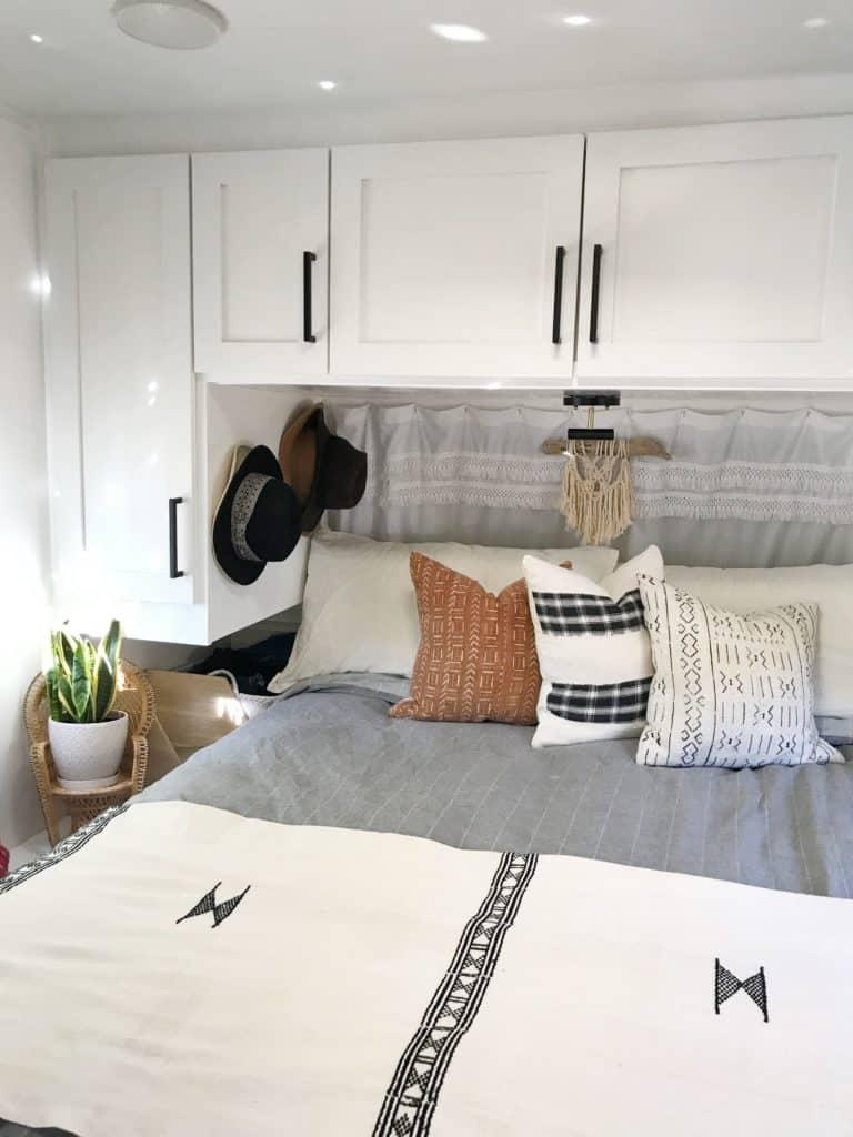 RV Bedrooms Storage Cabinets