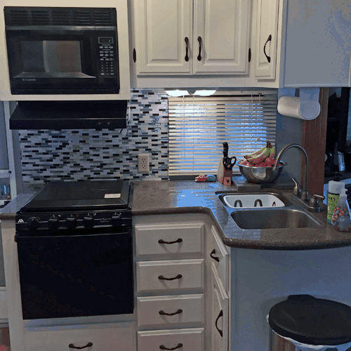 RV Kitchen Cabinets