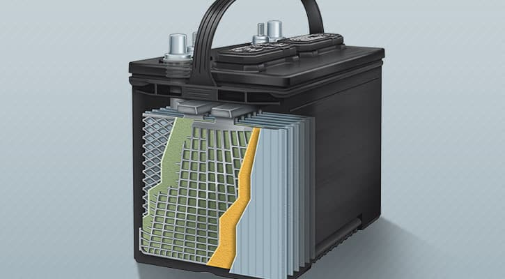 Conventional Flooded Electrolyte Batteries