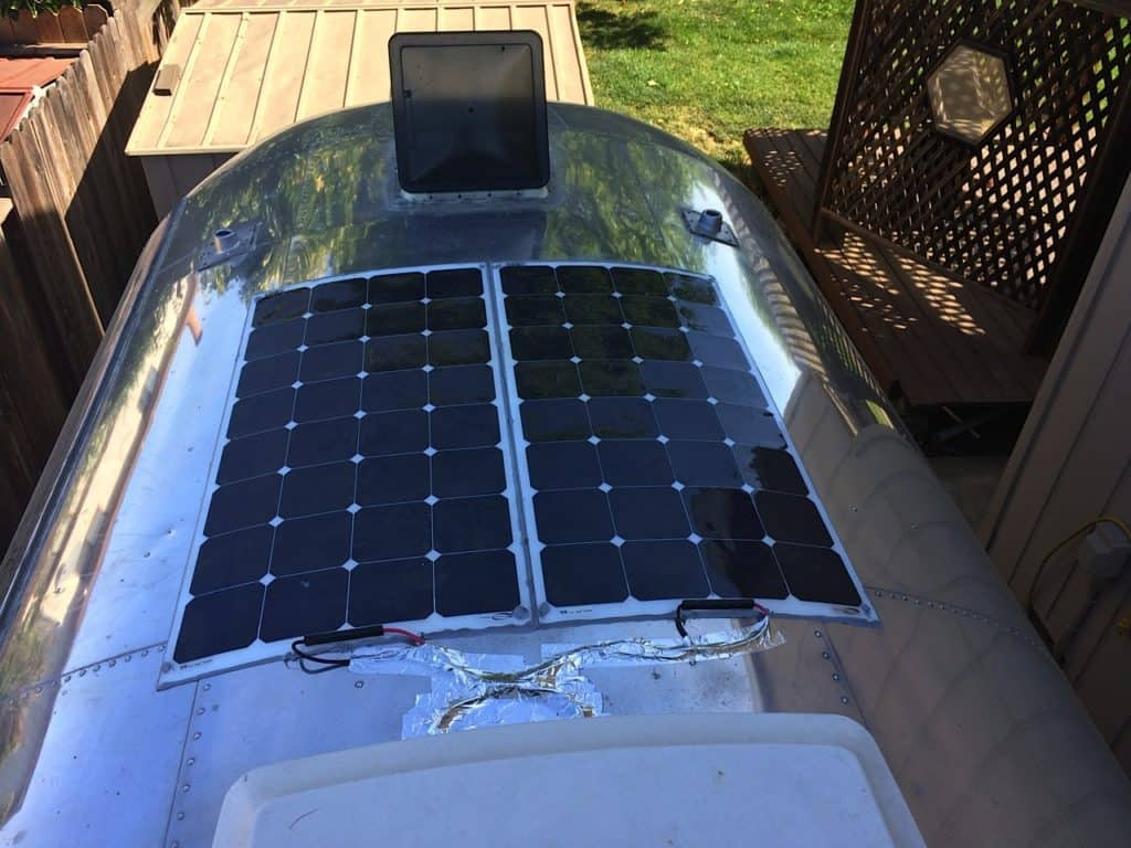 Flexible RV Solar Panels