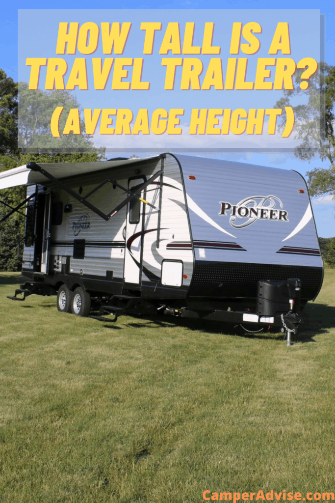 How Tall is a Travel Trailer?