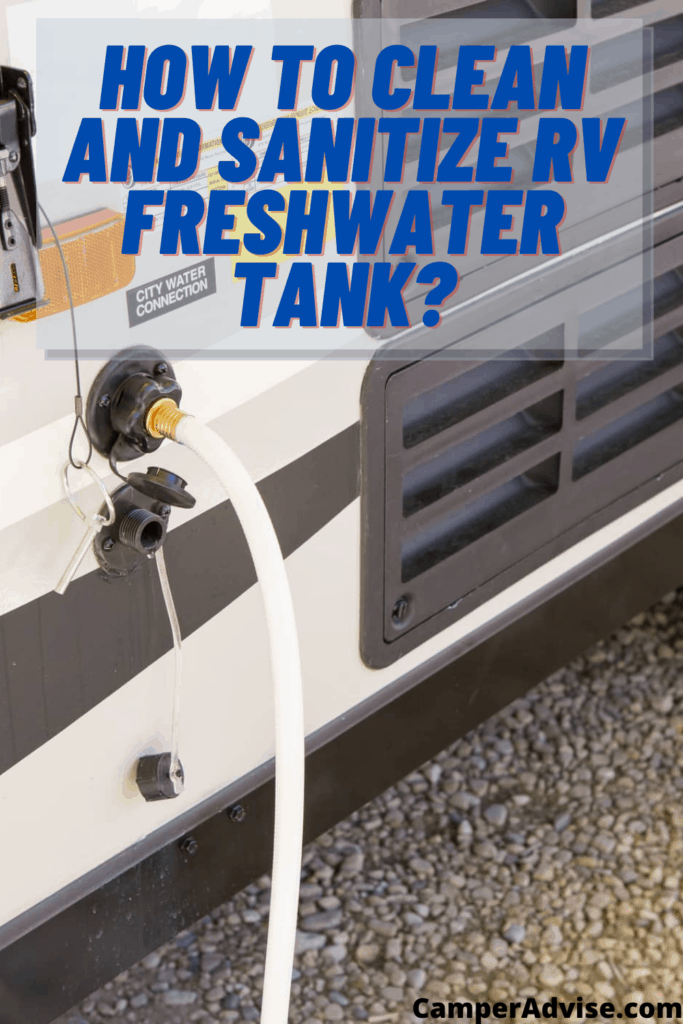 How to Clean and Sanitize RV Freshwater Tank_