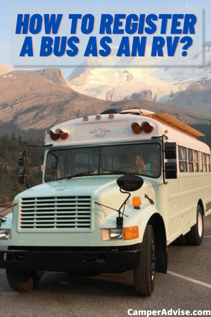 How to Register a Bus as an RV?