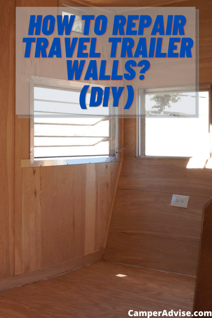 How to Repair Travel Trailer Walls?
