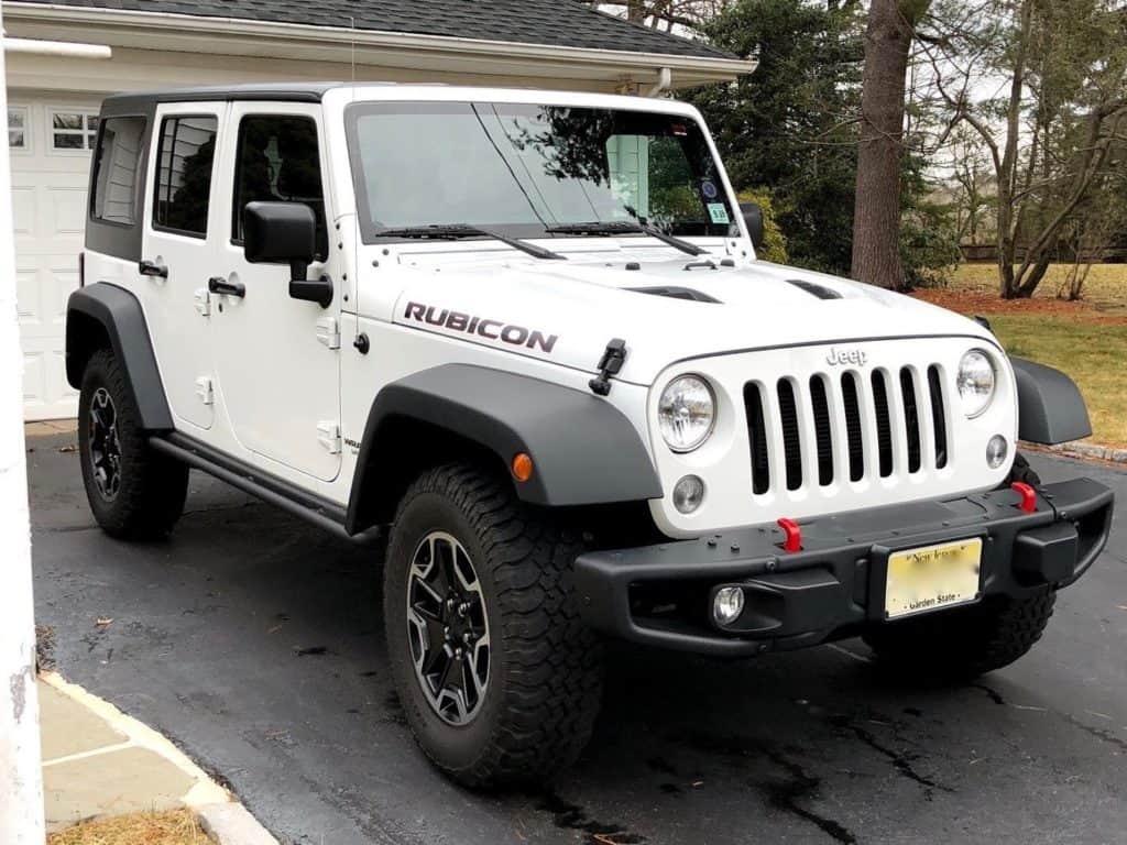 Jeep Wrangler Rubicon-Hard Rock Edition