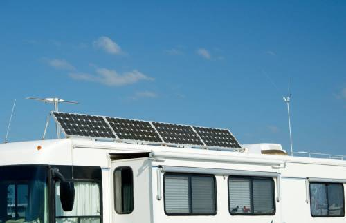 Solar Panels to Charge RV Batteries