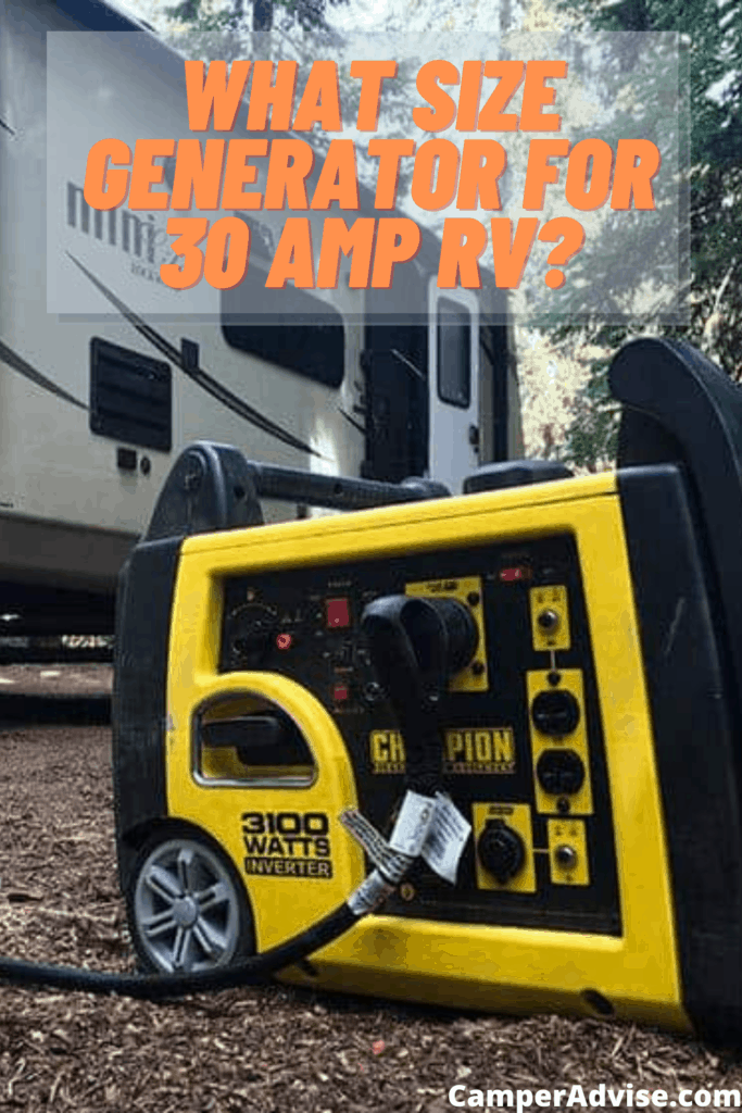 What Size Generator for 30 Amp RV