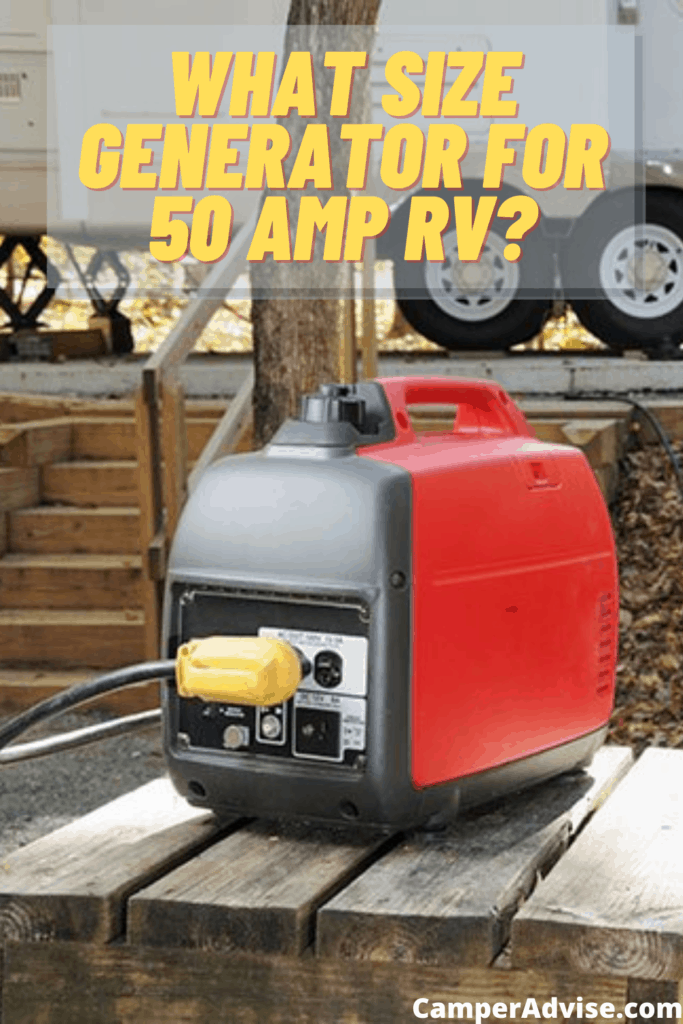What Size Generator for 50 Amp RV