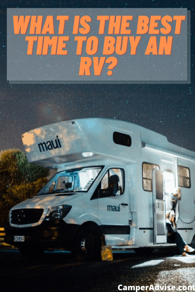 What is the best time to buy an rv?