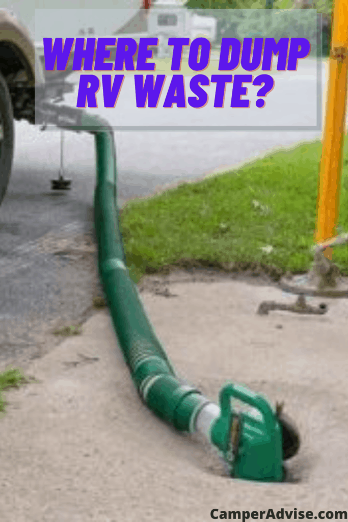Where to Dump RV Waste