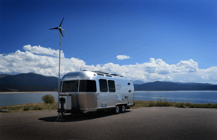 Wind Power to Charge RV Batteries