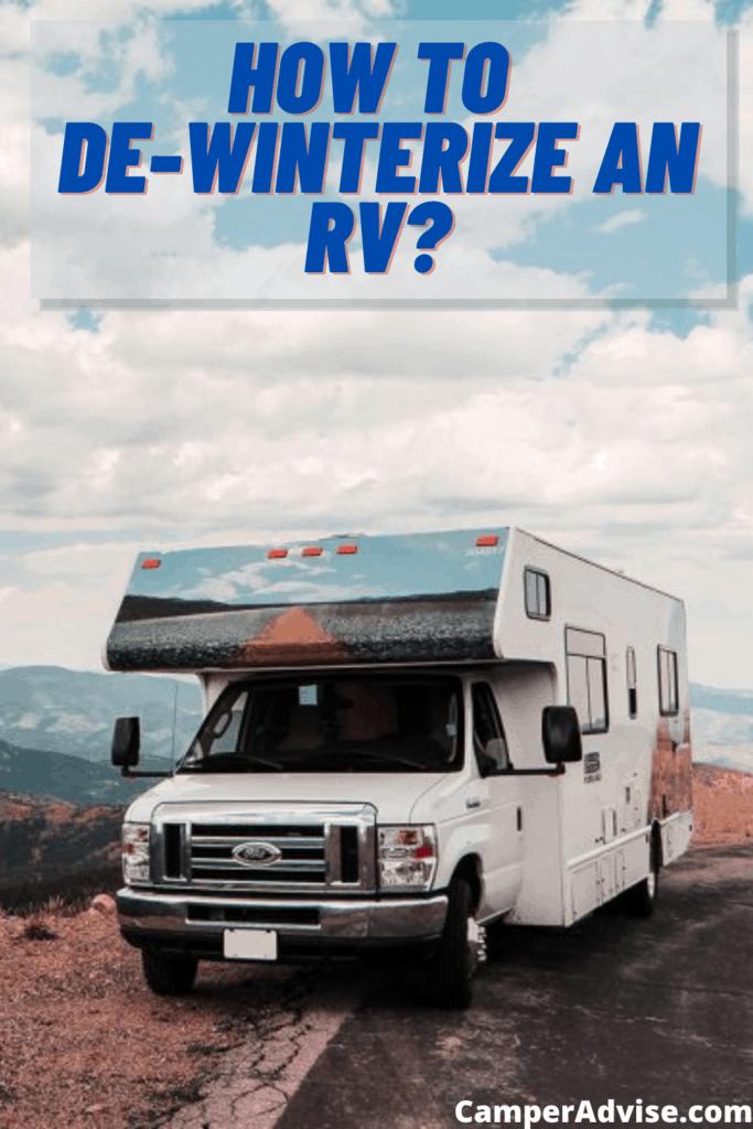 how to de-winterize an rv