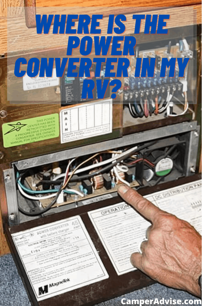 where is the power converter in my rv