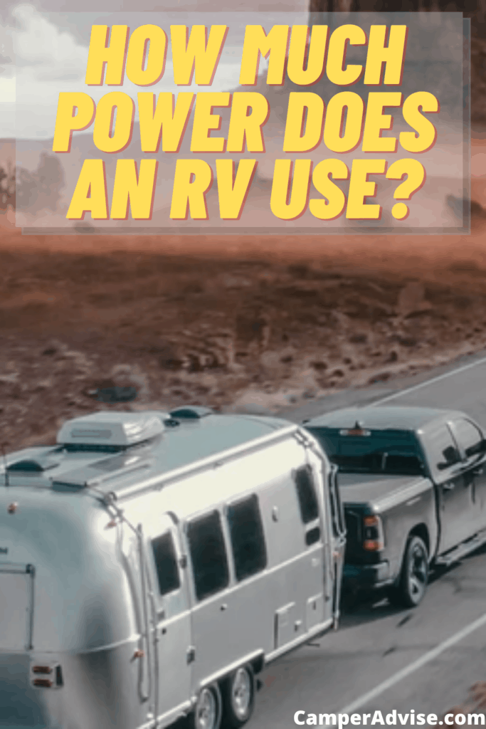 How Much Power Does an RV