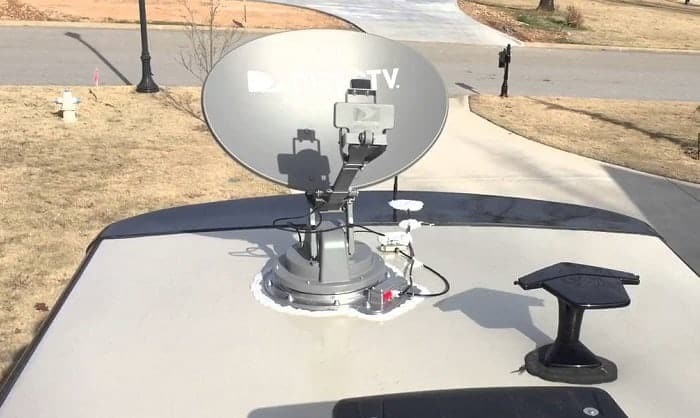 Satellite RV TV Antennas