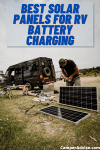 5 Best Solar Panels for RV Battery Charging