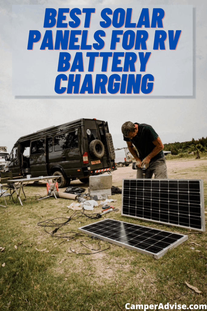 Best Solar Panels for RV Battery Charging