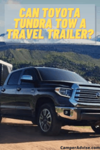 Can Toyota Tundra tow a travel trailer