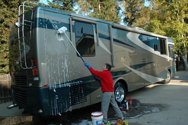 Washing RV