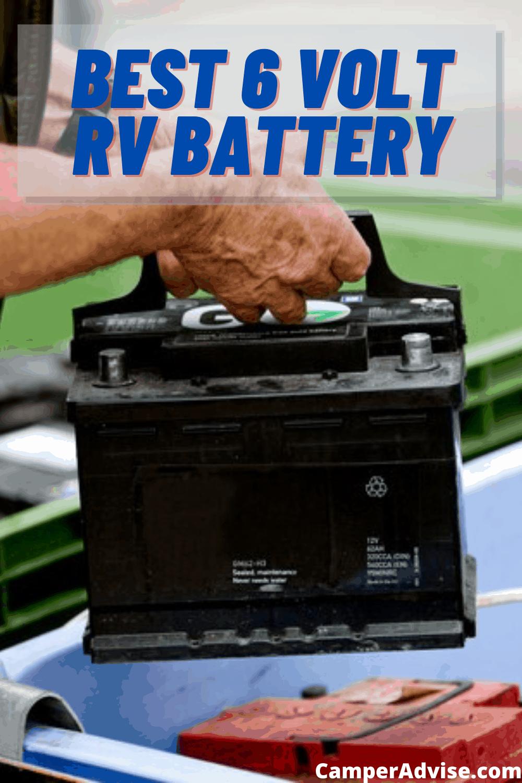 Best 6 Volt RV Battery