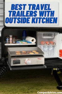 Best Travel Trailers with Outside Kitchen