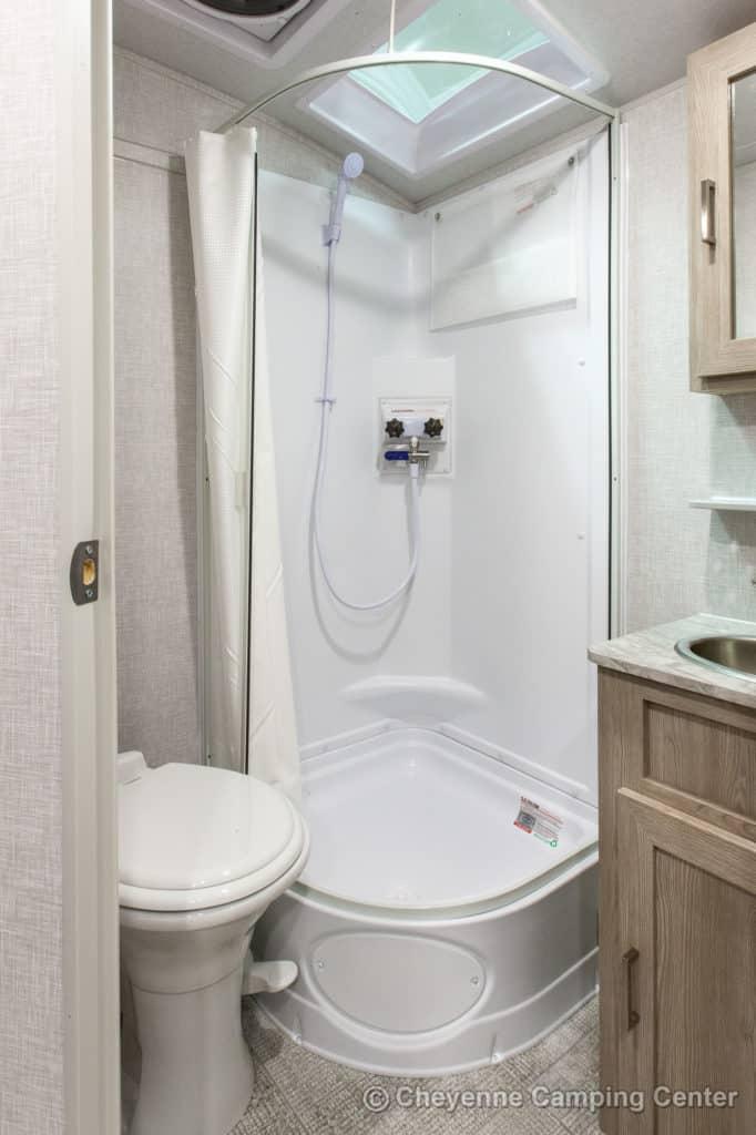 Forest River Flagstaff E-Pro Shower