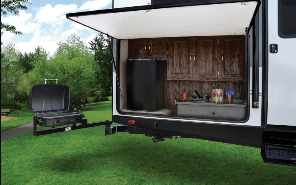 Forest River Vibe Extreme Lite Outside Kitchen