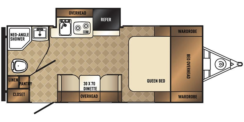 Palomini 182SK floorplan