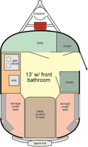 Scamp 13 Floorplan