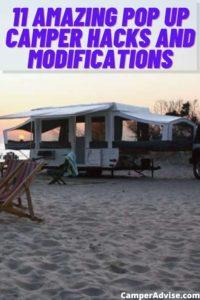 Pop Up Camper Hacks and Modifications