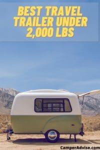 Best Travel Trailer under 2,000 lbs